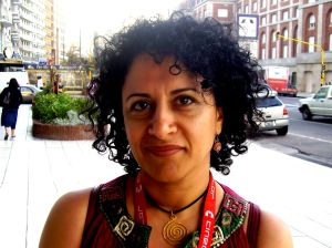 Fereshteh Sadr Orafai (actriz de Cafe Transit)