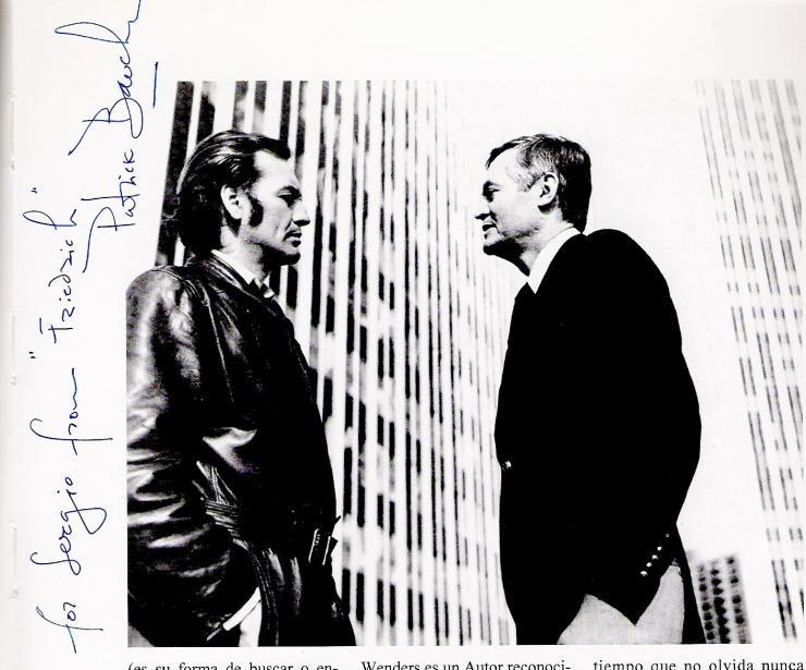 PatricK Bauchau & Roger Corman
