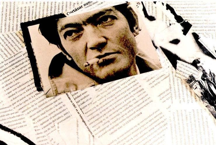 Fragmento collage Cortazar nunca leido. Sergio Italo Agliano x RSA