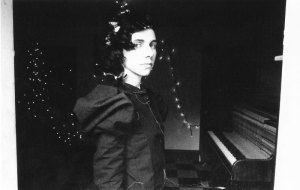 PJ Harvey on the keys