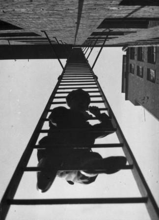 La escalera de incendio,1925.Rodchenko