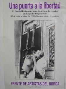 Afiche del Primer Festival