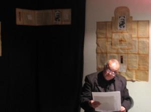 Taglione leyendo a Fijman. RSA