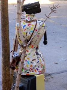 Mildred en la calle. RSA