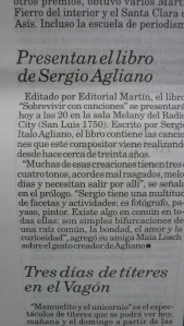 Nota en Diario La Capital, Mdp.
