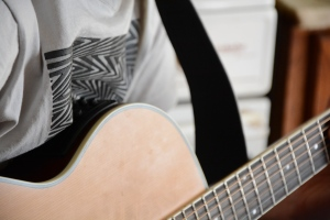 G.A. on guitar x RSA
